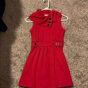 Cute red dress with pockets!!